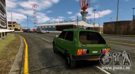 Zastava Yugo Skala für GTA 4 rechte Ansicht