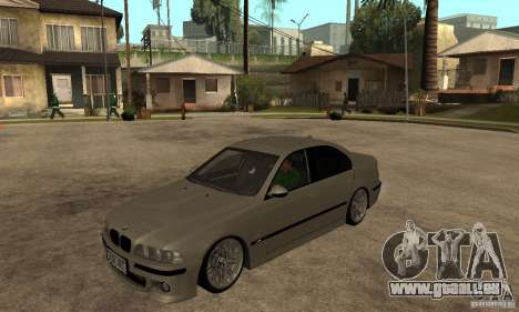 BMW E39 M5 Sedan pour GTA San Andreas