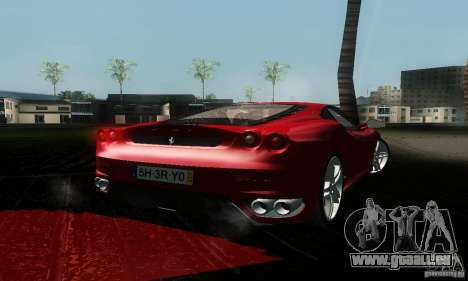 Ferrari F430 für GTA San Andreas linke Ansicht
