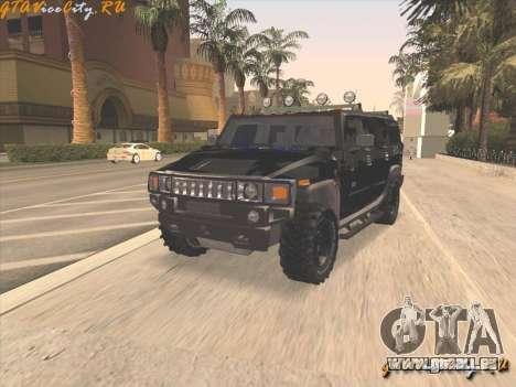 FBI Hummer H2 für GTA San Andreas