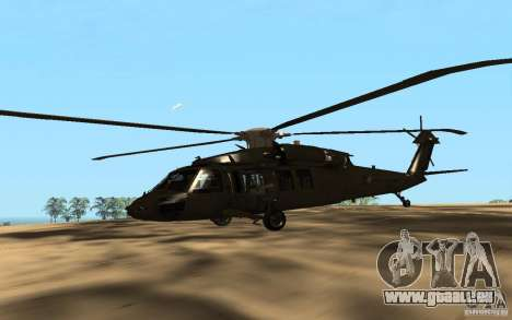 UH-60 Silent Hawk für GTA San Andreas
