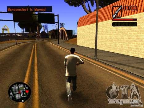GTA IV Animation in San Andreas pour GTA San Andreas deuxième écran