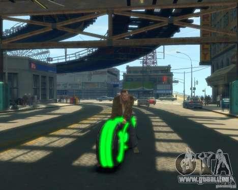 Moto du trône (vert fluo) pour GTA 4
