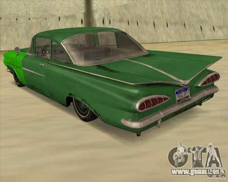 Chevrolet Biscayne 1959 für GTA San Andreas linke Ansicht