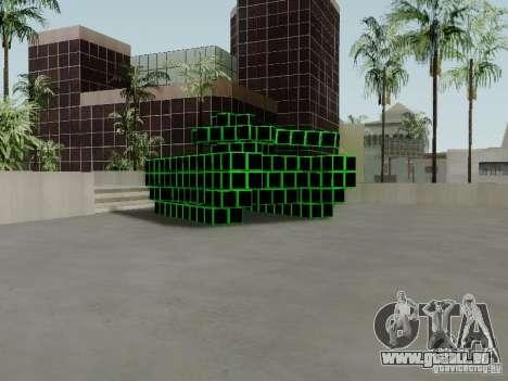 Pixel Tank für GTA San Andreas linke Ansicht