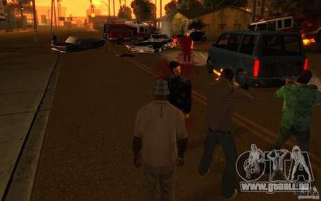 Brigade VERSION 2.0 pour GTA San Andreas troisième écran