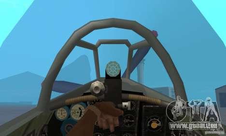 Die Jak-9 in der Lackierung, Sewastopol für GTA San Andreas rechten Ansicht