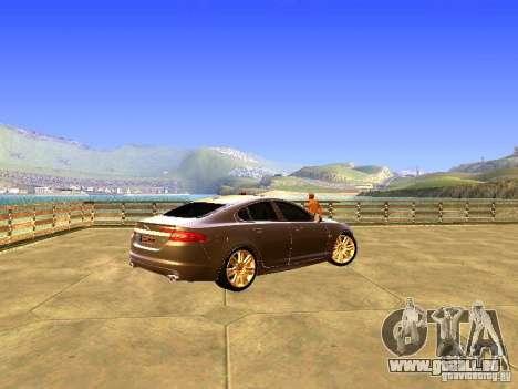 Jaguar XFR 2011 für GTA San Andreas Seitenansicht