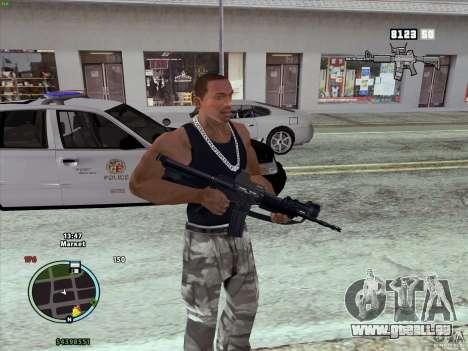 Pack de GTA IV pour GTA San Andreas troisième écran