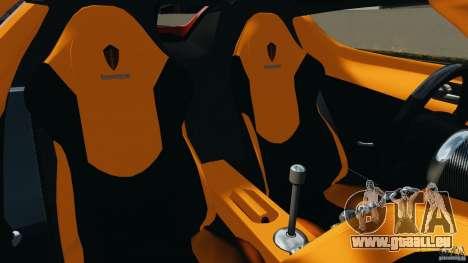 Koenigsegg CCX 2006 v1.0 [EPM][RIV] pour GTA 4 est une vue de l'intérieur