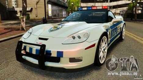 Chevrolet Corvette ZR1 Police für GTA 4