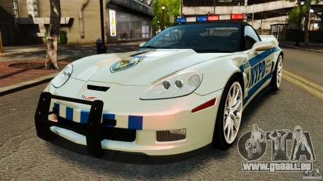 Chevrolet Corvette ZR1 Police pour GTA 4