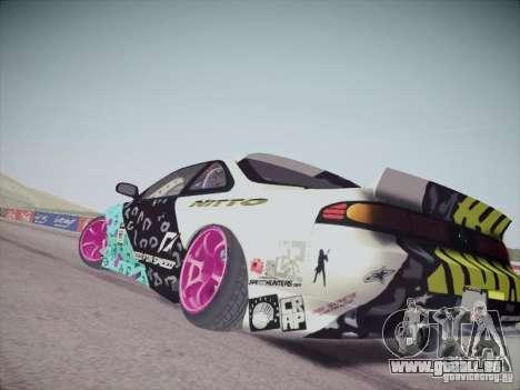 Nissan Silvia S14 Matt Powers 2011 pour GTA San Andreas laissé vue