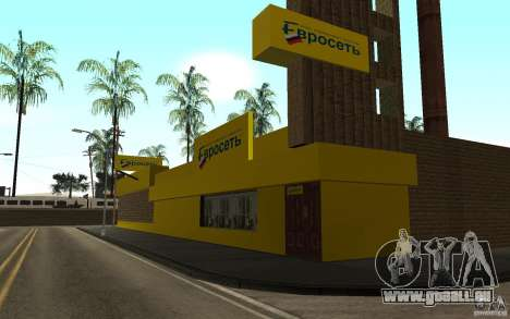 Die Store-Euroset für GTA San Andreas