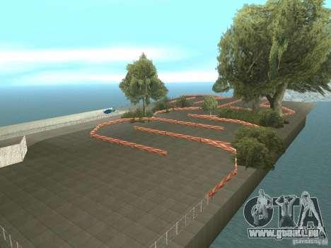 New Drift Track SF pour GTA San Andreas troisième écran