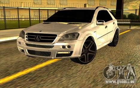 Mercedes-Benz ML63 AMG W165 Brabus pour GTA San Andreas