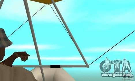 Wingy Dinghy (Crazy Flying Boat) für GTA San Andreas rechten Ansicht