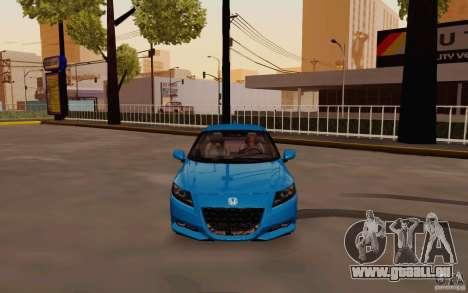 Honda CR-Z 2010 V3.0 pour GTA San Andreas vue intérieure