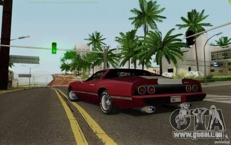 Phoenix HD pour GTA San Andreas laissé vue