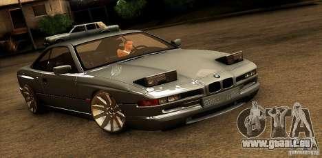 BMW 850 CSI für GTA San Andreas