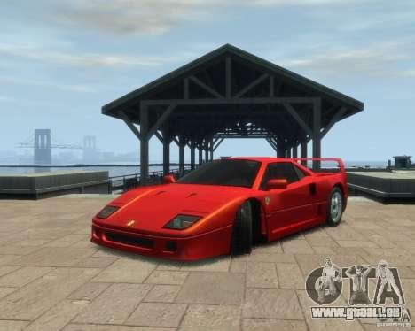 Ferrari F40 pour GTA 4