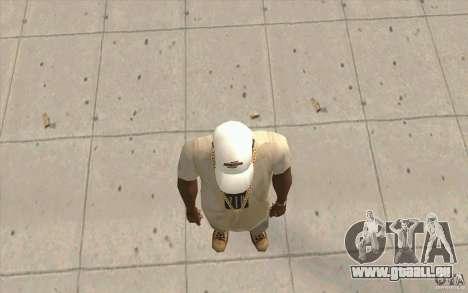 Nfsu2 Cap white pour GTA San Andreas troisième écran