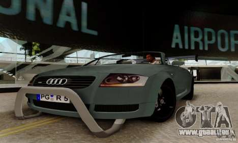 Audi TT Roadster pour GTA San Andreas vue arrière