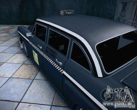 Diablo Cabbie HD pour GTA San Andreas vue intérieure