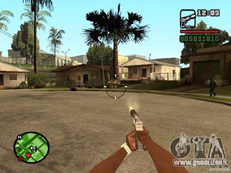 Vue de 1 personne pour GTA San Andreas