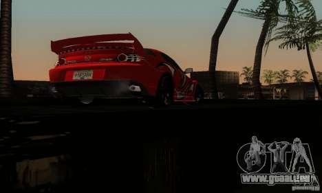 Mazda RX-8 Tuneable für GTA San Andreas Unteransicht