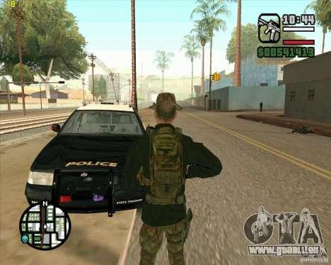 Praice peau de COD 4 pour GTA San Andreas troisième écran