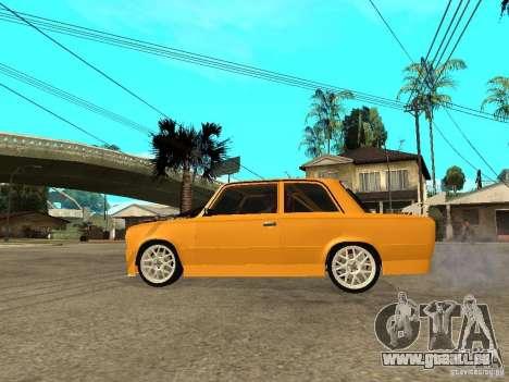 VAZ 2101 Globus für GTA San Andreas linke Ansicht