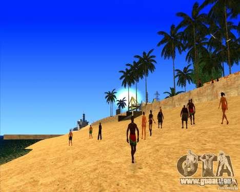 Cadre magnifique ENBSeries pour GTA San Andreas troisième écran