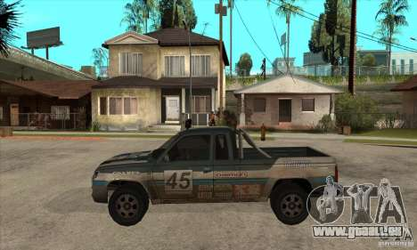 Nevada from FlatOut 2 für GTA San Andreas linke Ansicht
