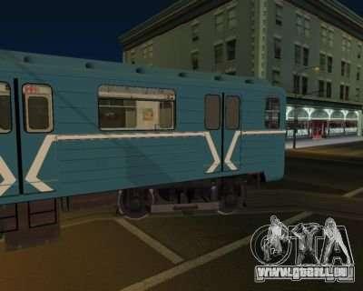 Animtrain pour GTA San Andreas deuxième écran