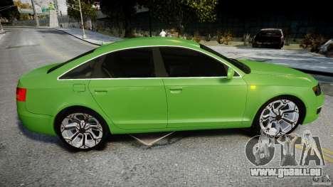 Audi A6 TDI 3.0 für GTA 4 obere Ansicht