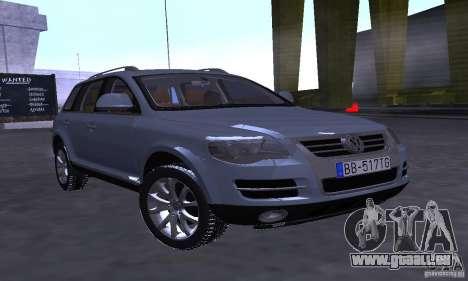 Volkswagen Touareg für GTA San Andreas linke Ansicht