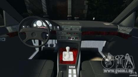 BMW E34 V8 540i für GTA 4 Rückansicht