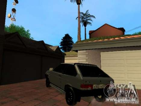 VAZ 2108 Gangsta Edition für GTA San Andreas linke Ansicht