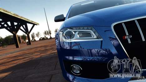 Audi S3 2010 v1.0 pour GTA 4 est une vue de l'intérieur