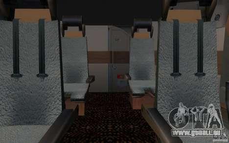 Boeing-747 Corsair Fly pour GTA San Andreas vue intérieure