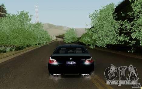 BMW M5 2009 für GTA San Andreas rechten Ansicht