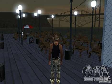 Happy Island 1.0 pour GTA San Andreas deuxième écran