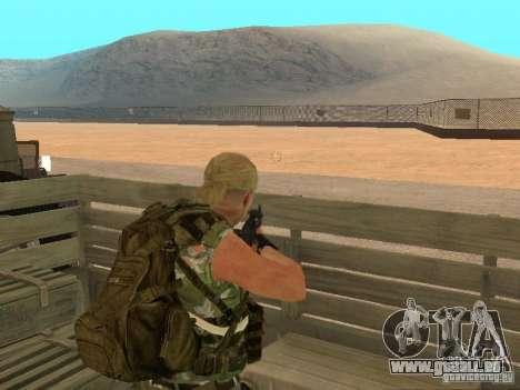 Russische Commando für GTA San Andreas dritten Screenshot