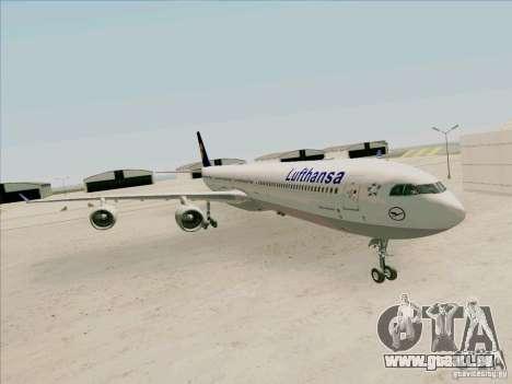 Airbus A-340-600 Lufthansa pour GTA San Andreas