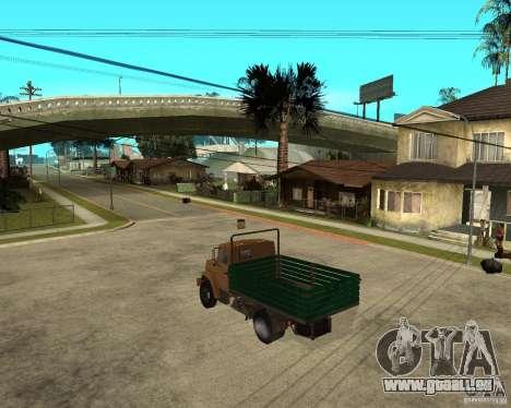 ZIL-433362 Extra Pack 1 für GTA San Andreas Rückansicht