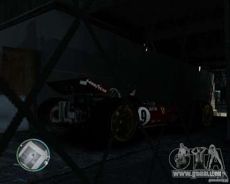 Ferrari F1 v1.0 pour GTA 4 Vue arrière de la gauche