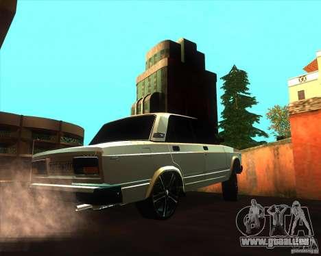 VAZ 2107 Azeri Style pour GTA San Andreas vue de droite