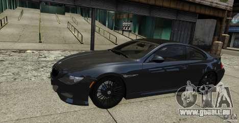 BMW M6 Hurricane RR pour GTA 4
