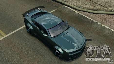 Chevrolet Camaro SS EmreAKIN Edition für GTA 4 Unteransicht